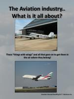 the aviation industry what is it all about