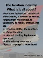 the aviation industry what is it all about2