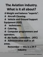 the aviation industry what is it all about3