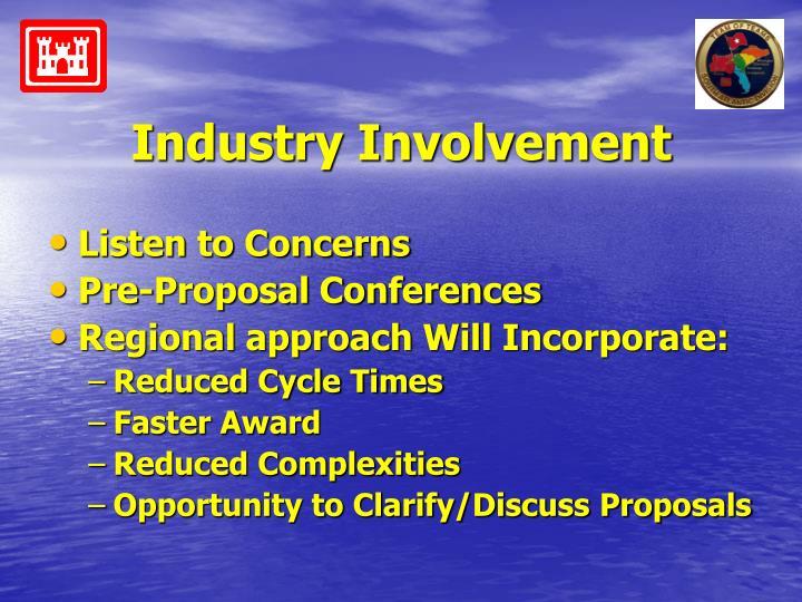 Industry Involvement