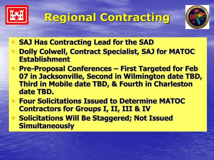 Regional Contracting
