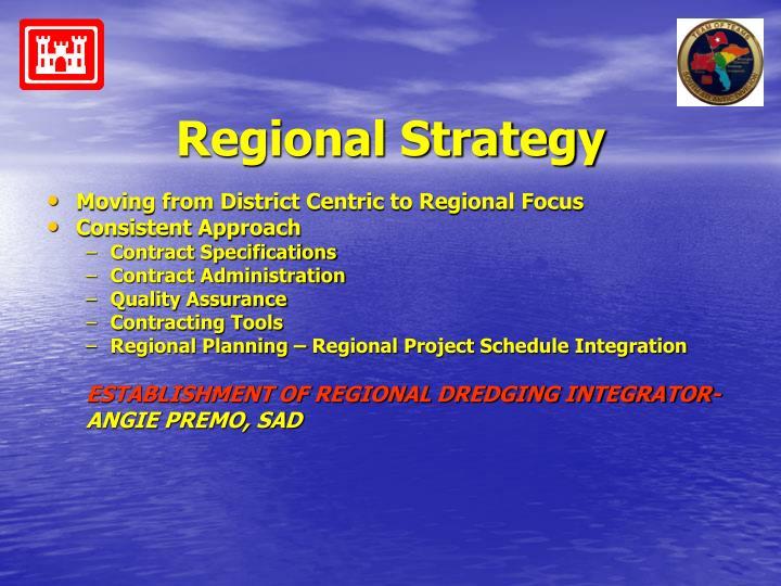 Regional strategy