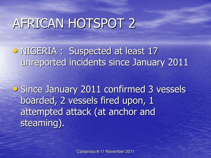 AFRICAN HOTSPOT 2