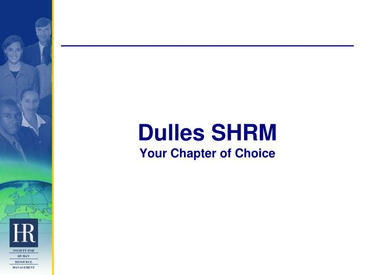 Dulles SHRM