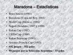 maradona estad sticas