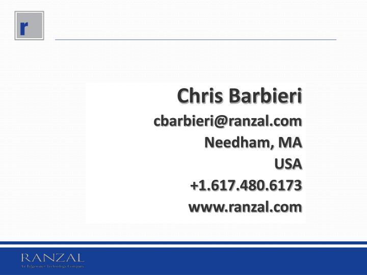Chris Barbieri