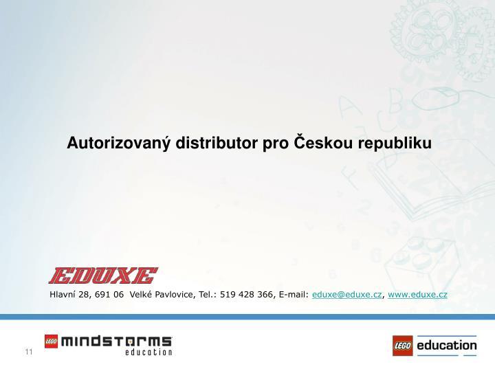 Autorizovaný distributor pro