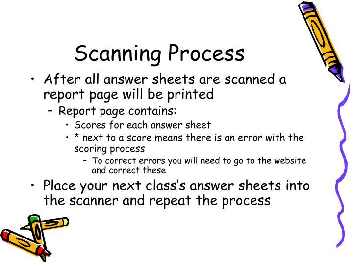 Scanning process1