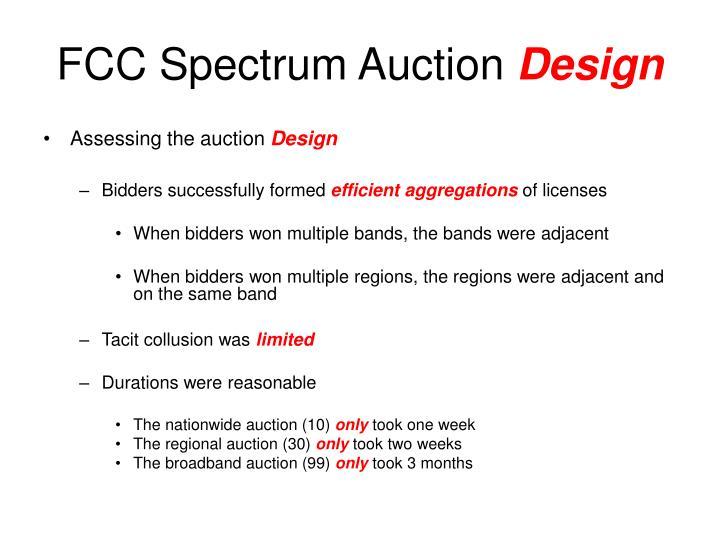 FCC Spectrum Auction