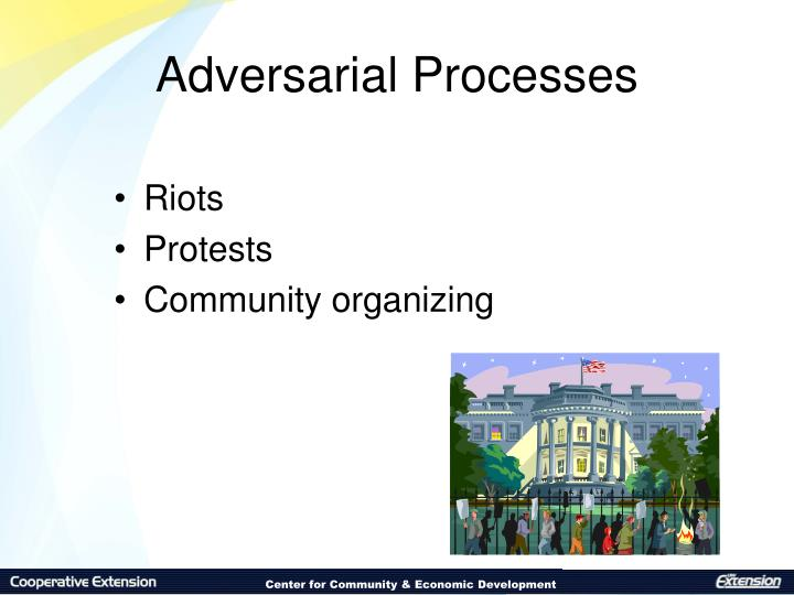 Adversarial Processes