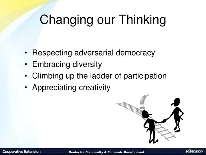 Changing our Thinking