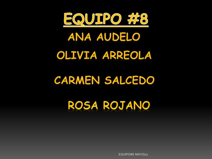 EQUIPO #8
