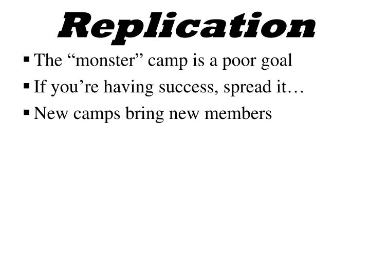 Replication