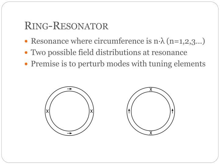 Ring-Resonator
