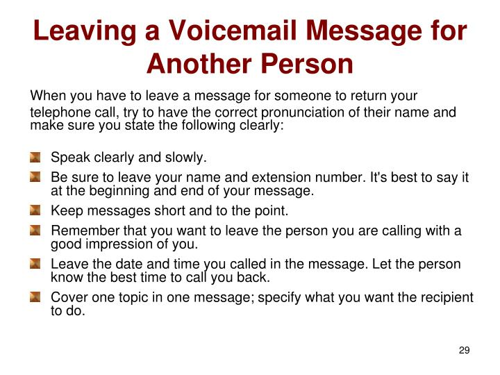 how to leave a voicemail without calling iphone ppt telephone etiquette powerpoint presentation id 5002594 8265