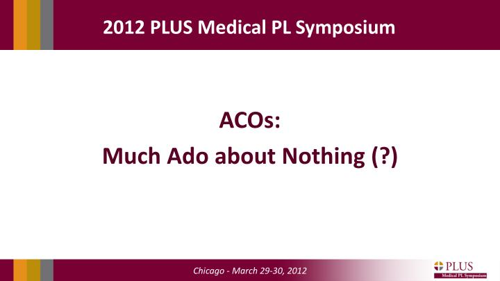 acos much ado about nothing n.
