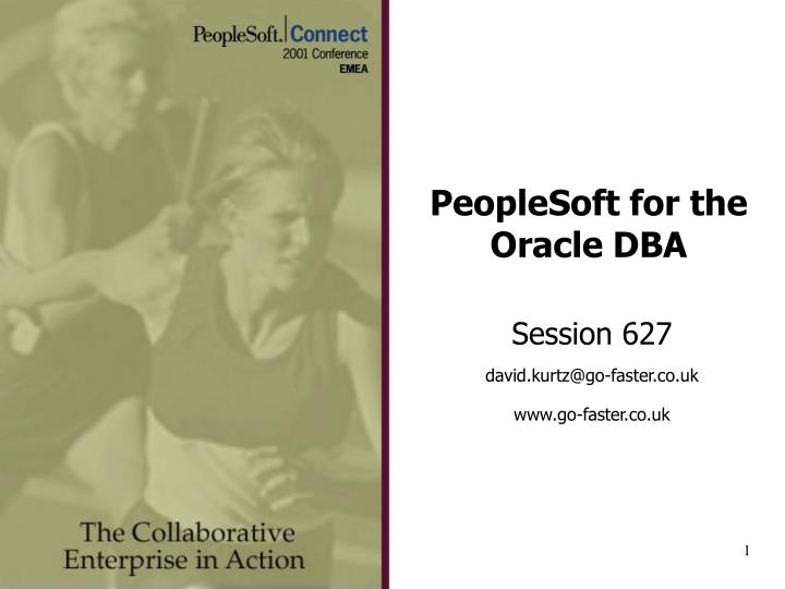 peoplesoft for the oracle dba n.