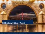 m2m smart cities world