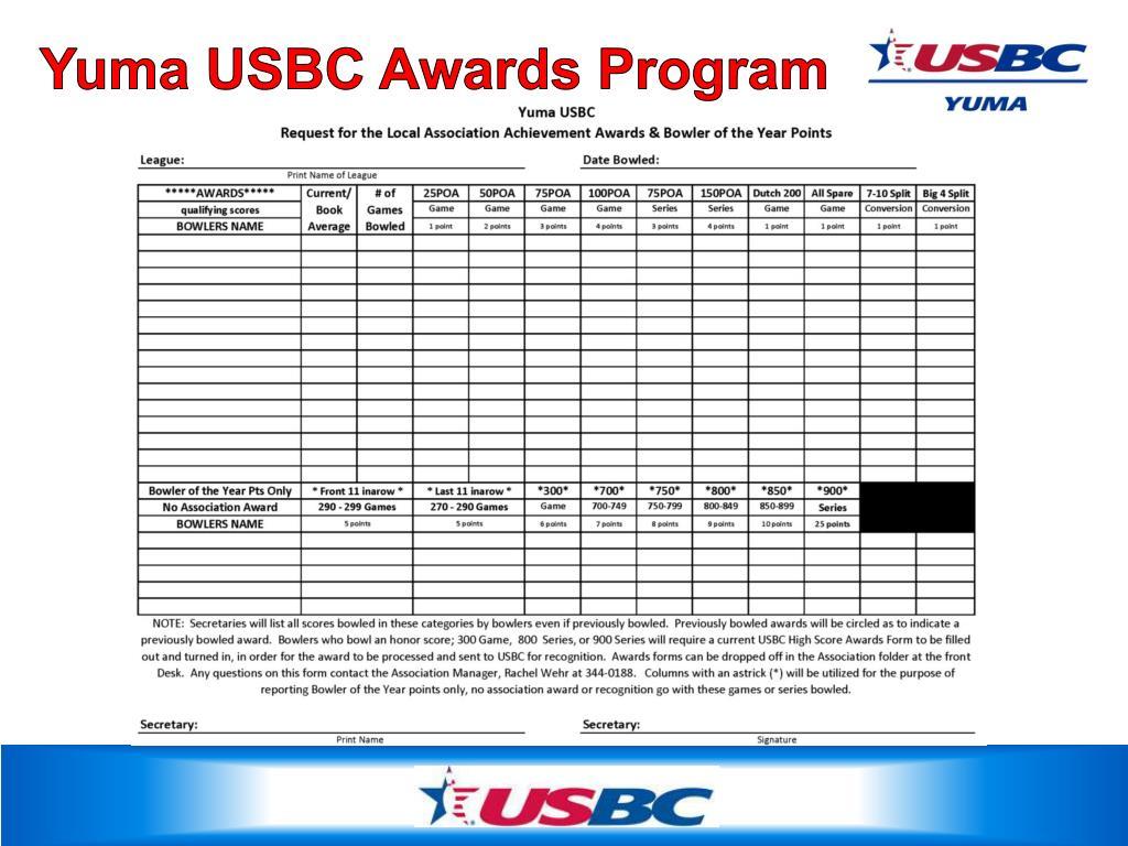 PPT - Yuma USBC PowerPoint Presentation - ID:5003553