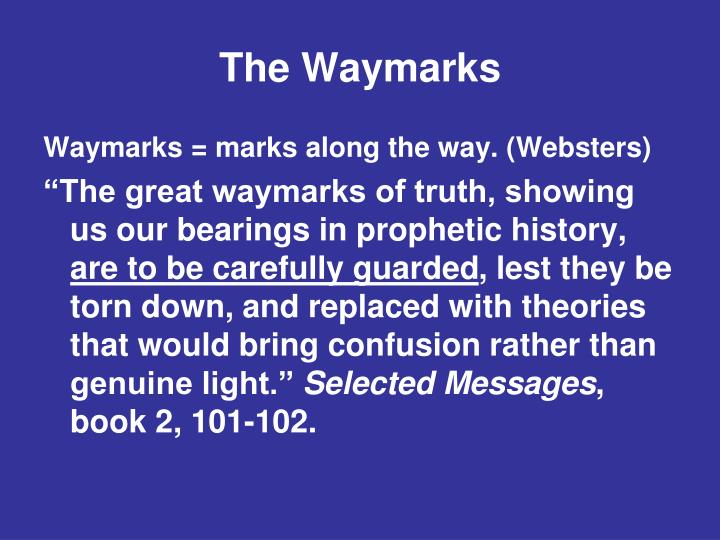 The Waymarks