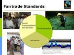 fairtrade standards