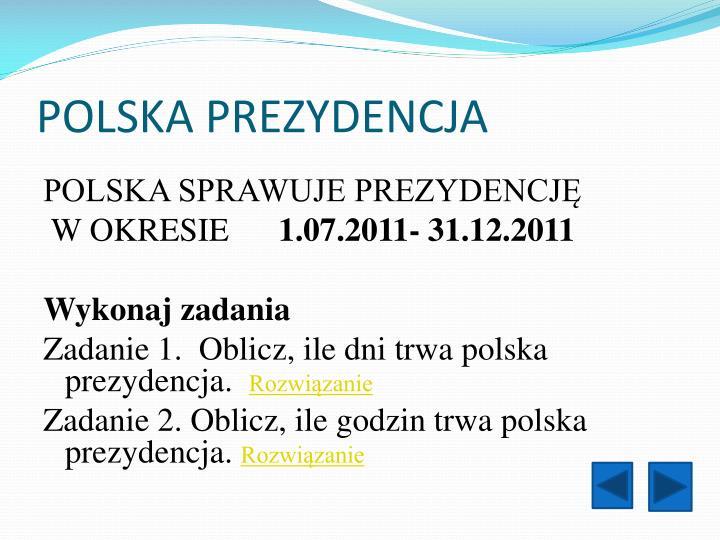 Polska prezydencja