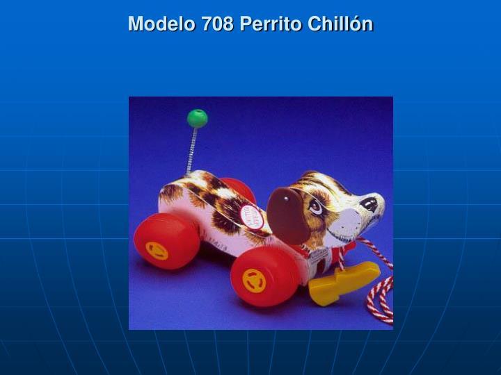 Modelo 708 perrito chill n