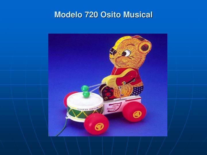 Modelo 720 Osito Musical