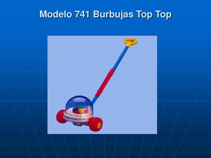Modelo 741 Burbujas Top Top