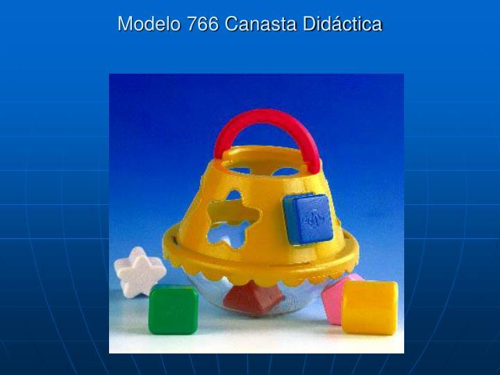 Modelo 766 Canasta Didáctica