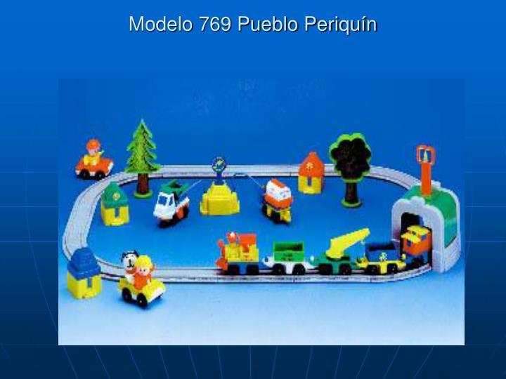 Modelo 769 Pueblo Periquín