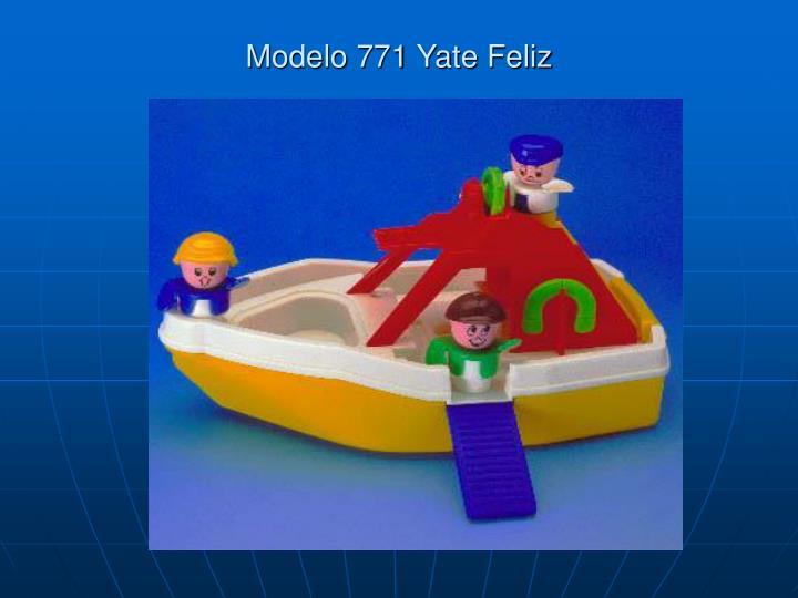 Modelo 771 Yate Feliz