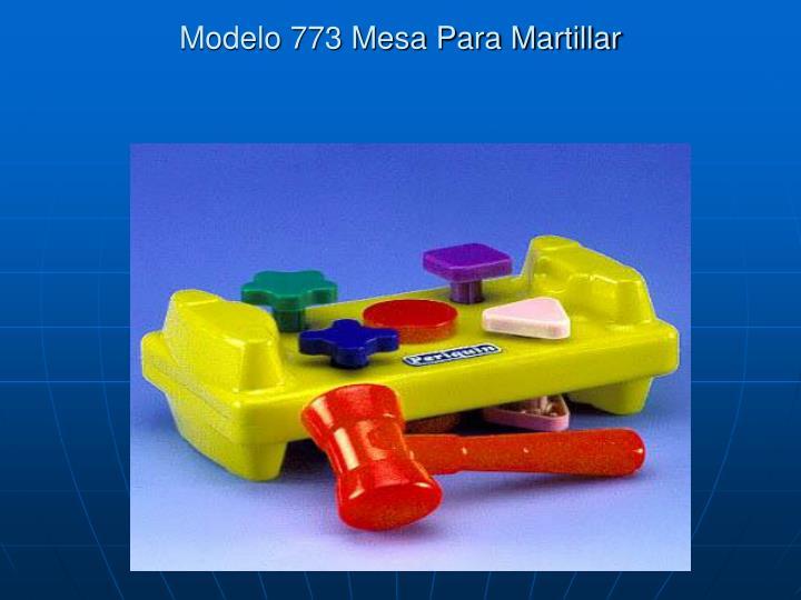 Modelo 773 Mesa Para Martillar
