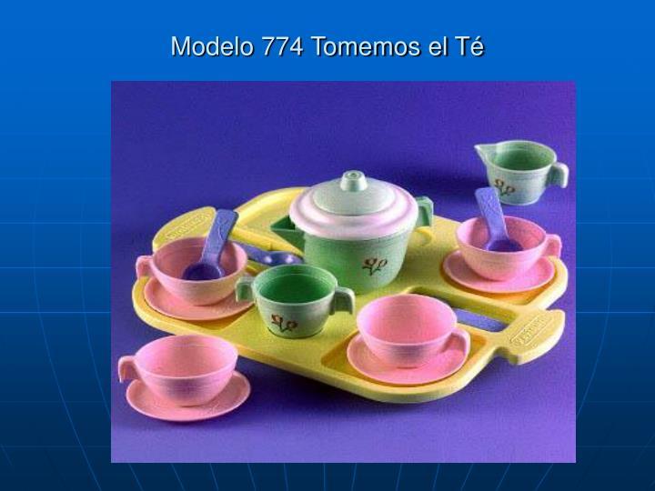 Modelo 774 Tomemos el Té