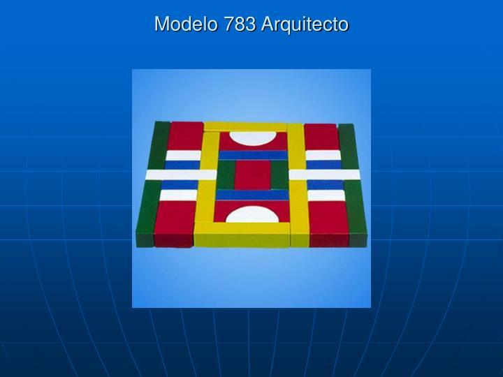 Modelo 783 Arquitecto