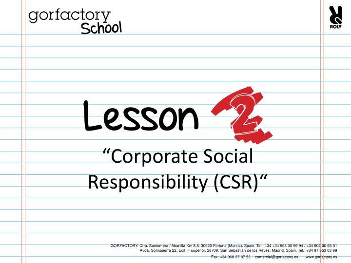 """Corporate Social"