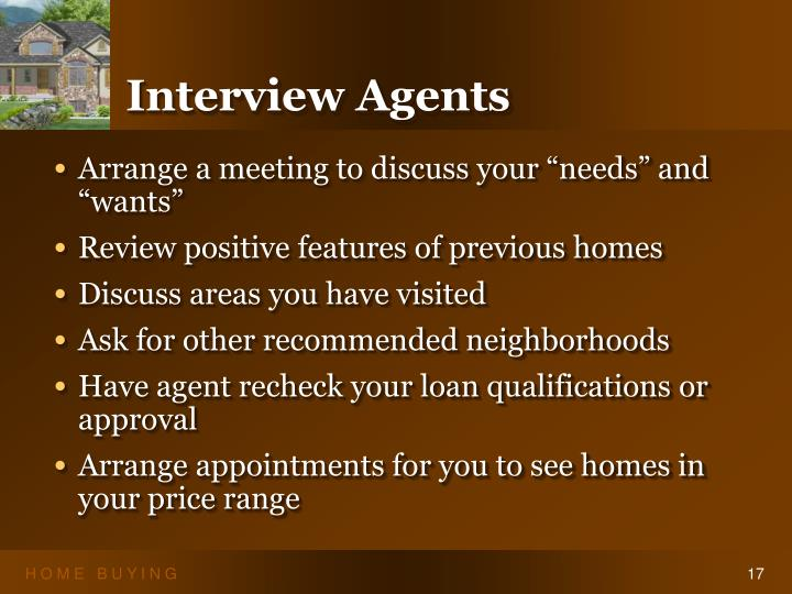 Interview Agents