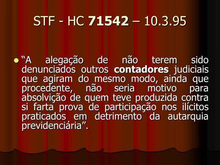 STF - HC