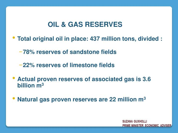Total original oil in place: 437 million tons, divided :