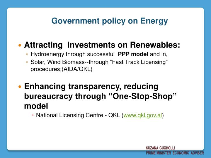 Attracting  investments on Renewables: