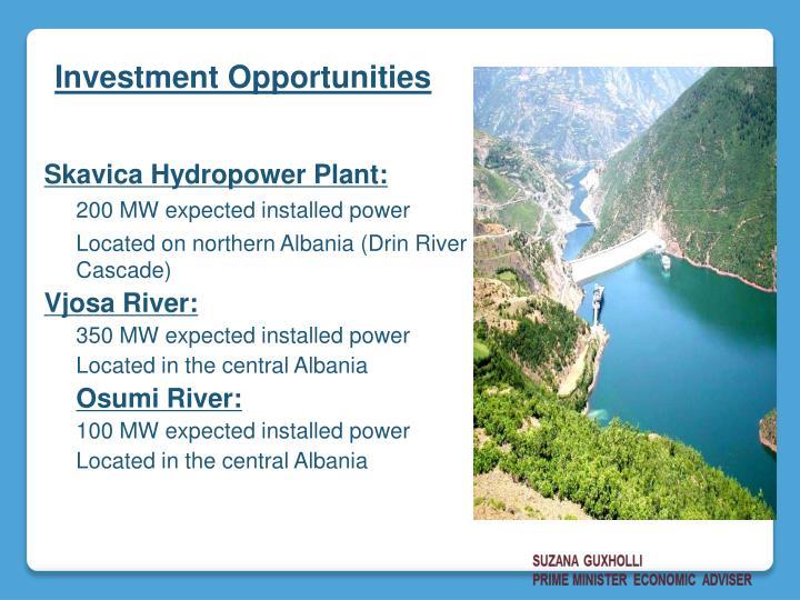 Skavica Hydropower Plant: