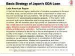 basic strategy of japan s oda loan