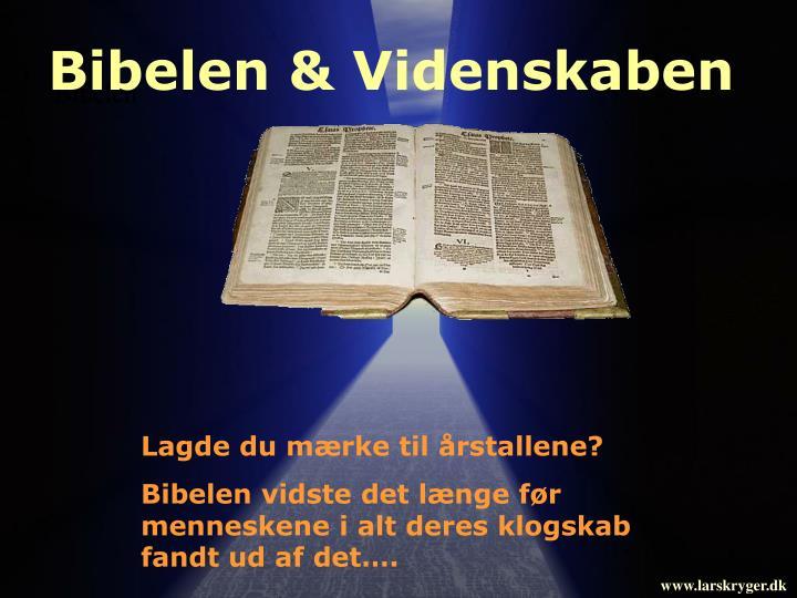 Bibelen & Videnskaben