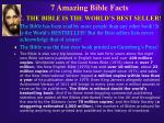 7 amazing bible facts 2 the bible is the world s best seller