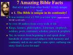 7 amazing bible facts that set it apart from other books a truly unique book