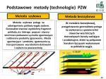 podstawowe metody technologie pzw
