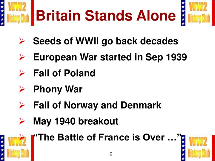 Britain Stands Alone