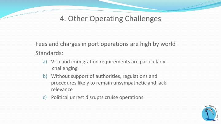 4. Other Operating Challenges