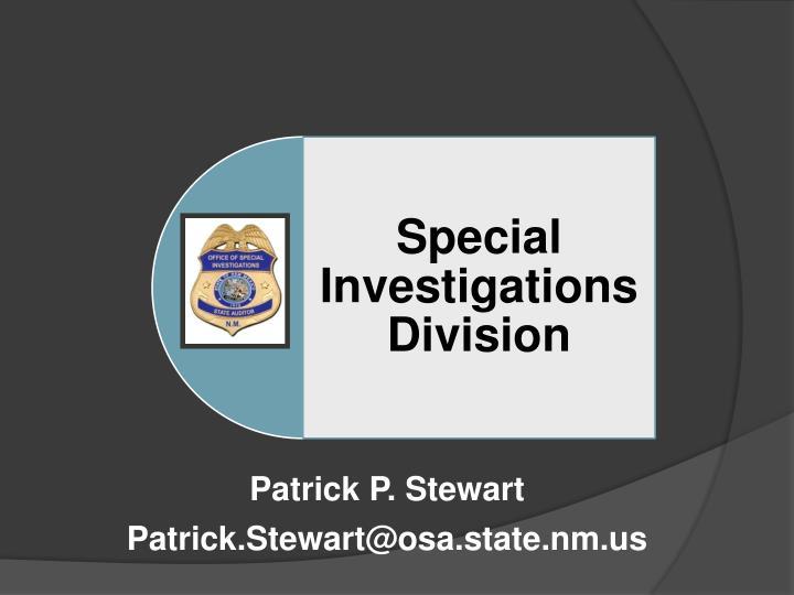 Patrick P. Stewart