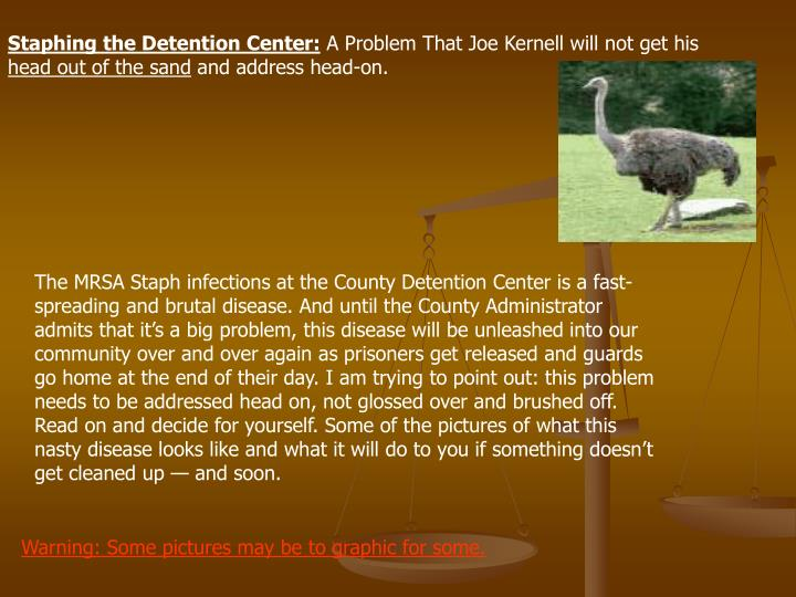 Staphing the Detention Center: